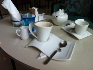 Dusit Thani coffee set
