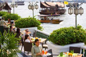 Mandarin Oriental water taxi