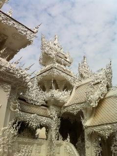 Details of Wat Rong Khun