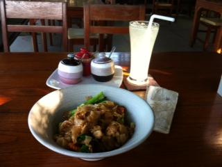 Lunch at Riverside Restaurant
