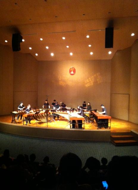 Music hall at Chulalongkorn University