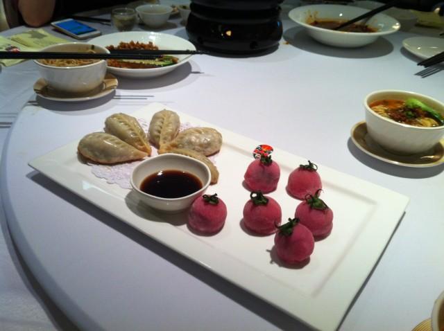 Szechuan dinner dessert