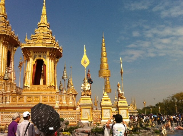 Thai Royal Cremation Hall at Sanam Luang